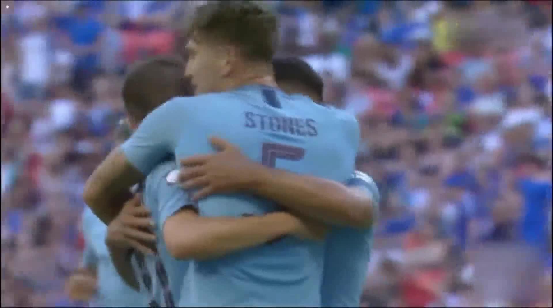 [视频]曼城2-0切尔西夺社区盾杯冠军
