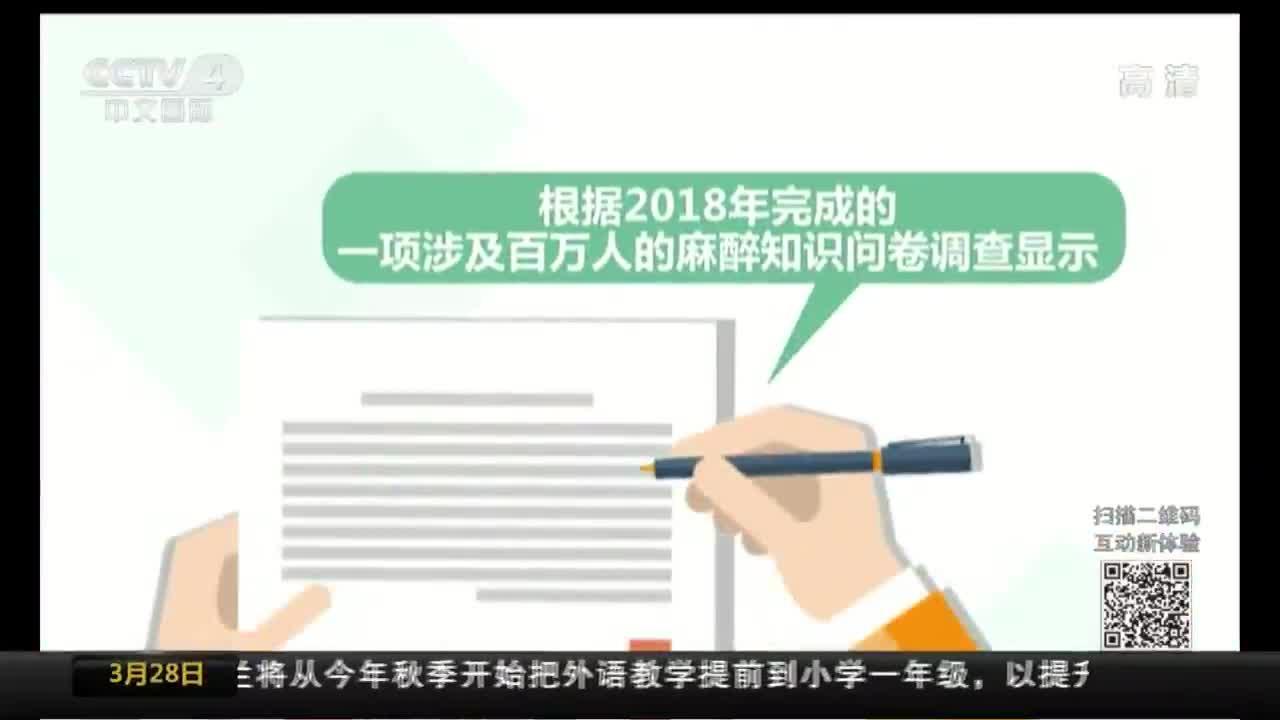 [视频]中国麻醉周:关注麻醉 提升了解