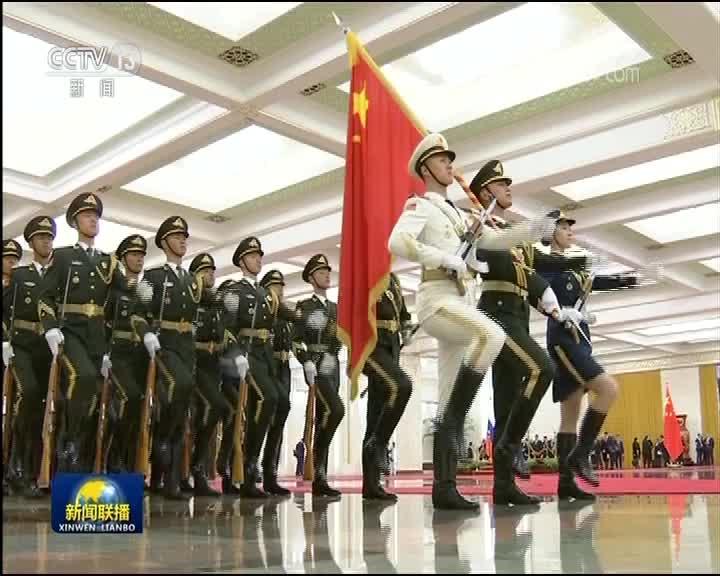 [视频]李克强举行仪式欢迎俄罗斯总理访华