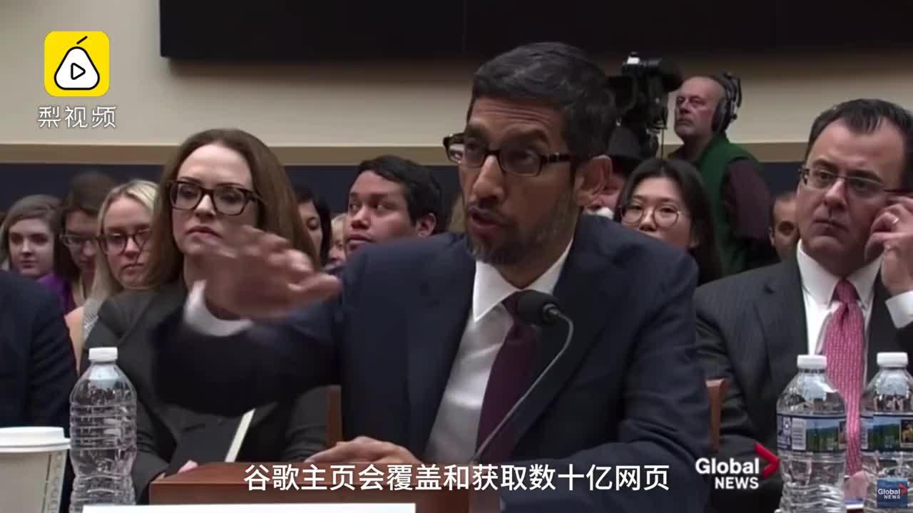 """[视频]搜""""白痴""""出现川普?谷歌CEO回应:算法很客观"""