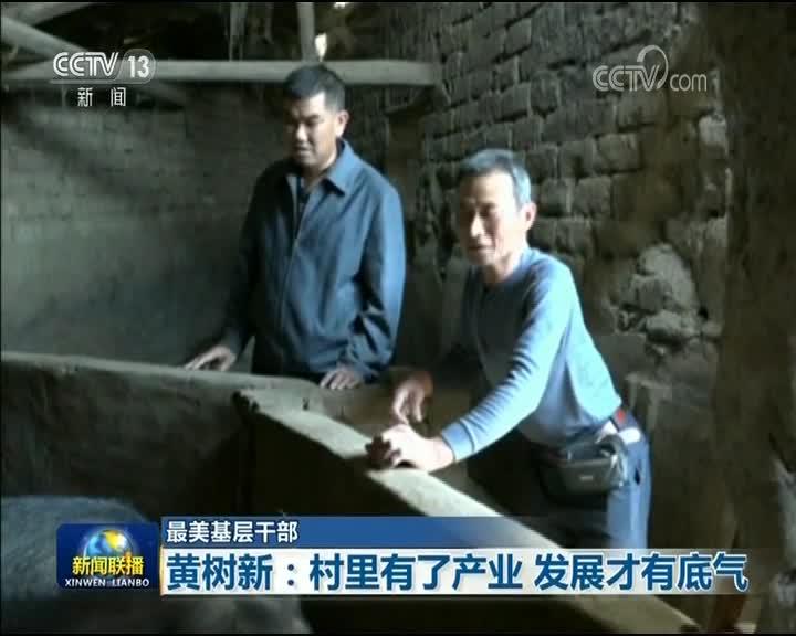 [视频]【最美基层干部】黄树新:村里有了产业 发展才有底气