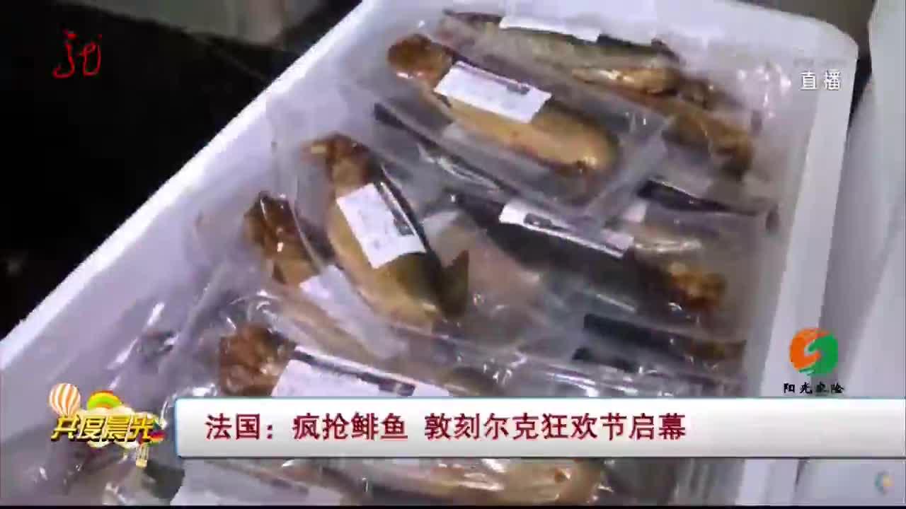 [视频]法国:疯抢鲱鱼 敦刻尔克狂欢节启幕