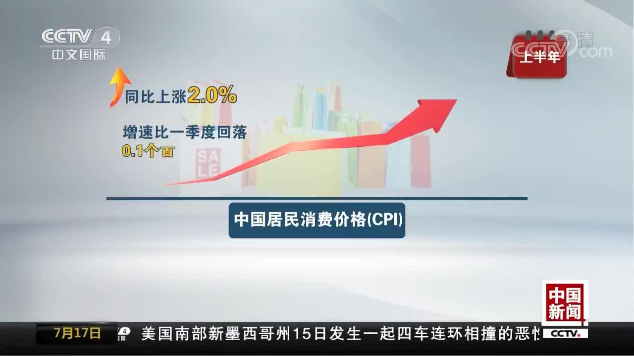 [视频]今年上半年中国经济亮点纷呈