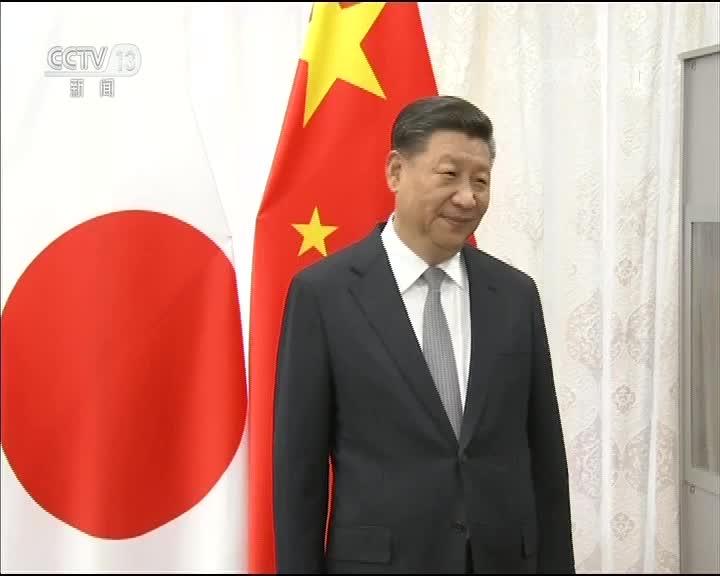 [视频]习近平会见日本首相