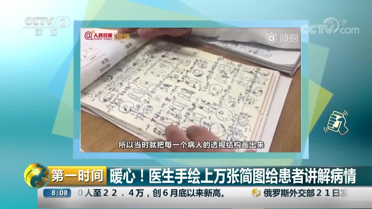 [视频]暖心!医生手绘上万张简图给患者讲解病情