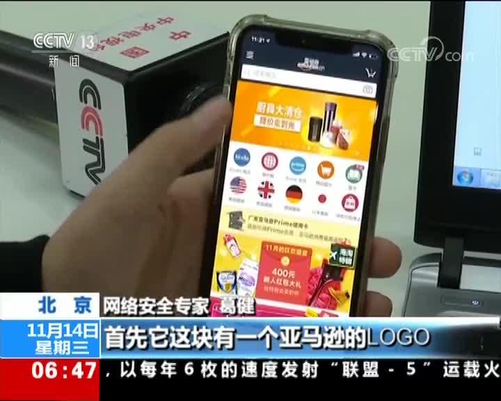 """[视频]北京市公安局 """"双十一""""网购安全报告发布"""