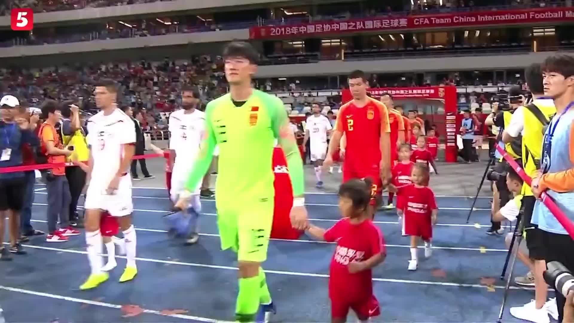 [视频]热身赛:末战巴勒斯坦平局收官 国足放眼亚洲杯
