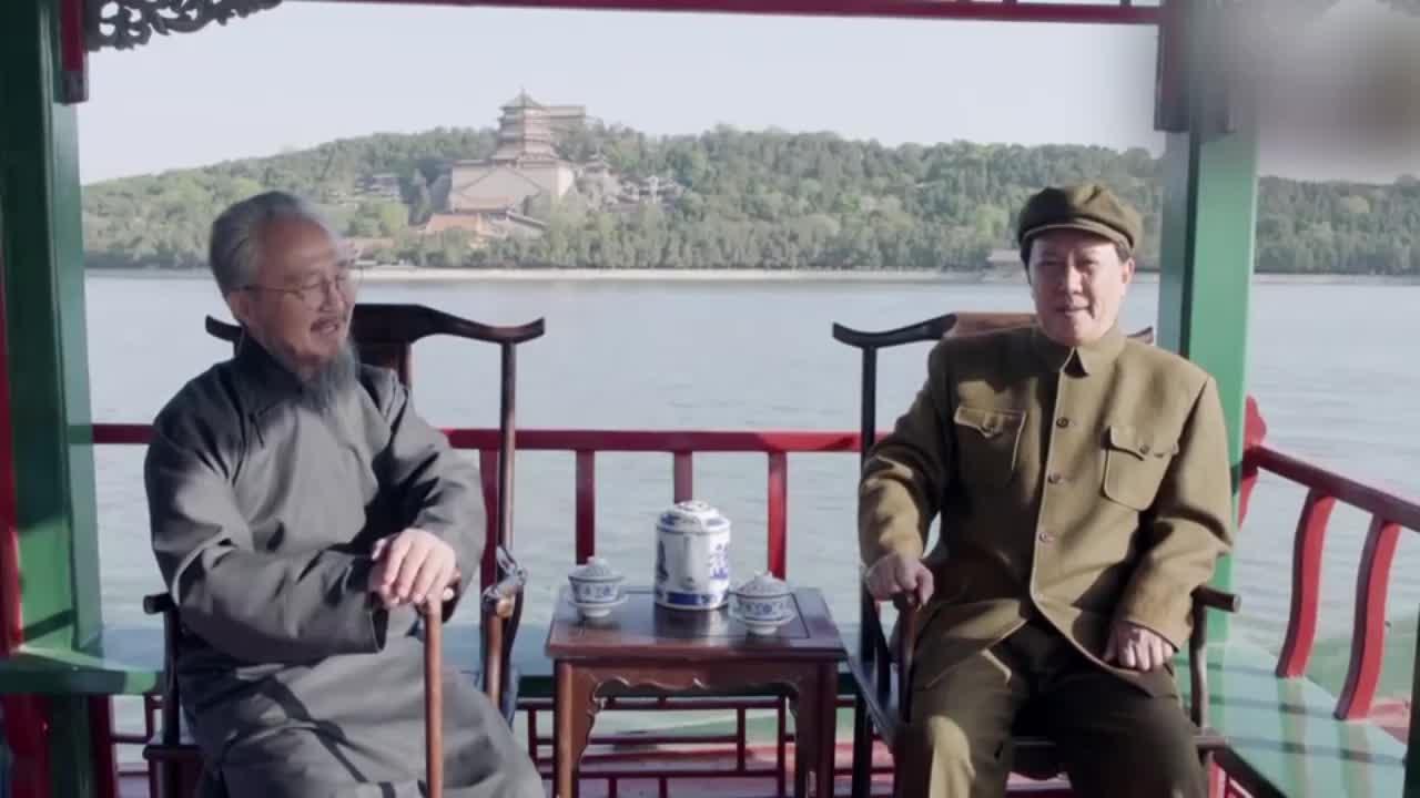 【不忘初心 经典故事】毛泽东谈胜利之路获柳亚子认可:人民的支持是根本!