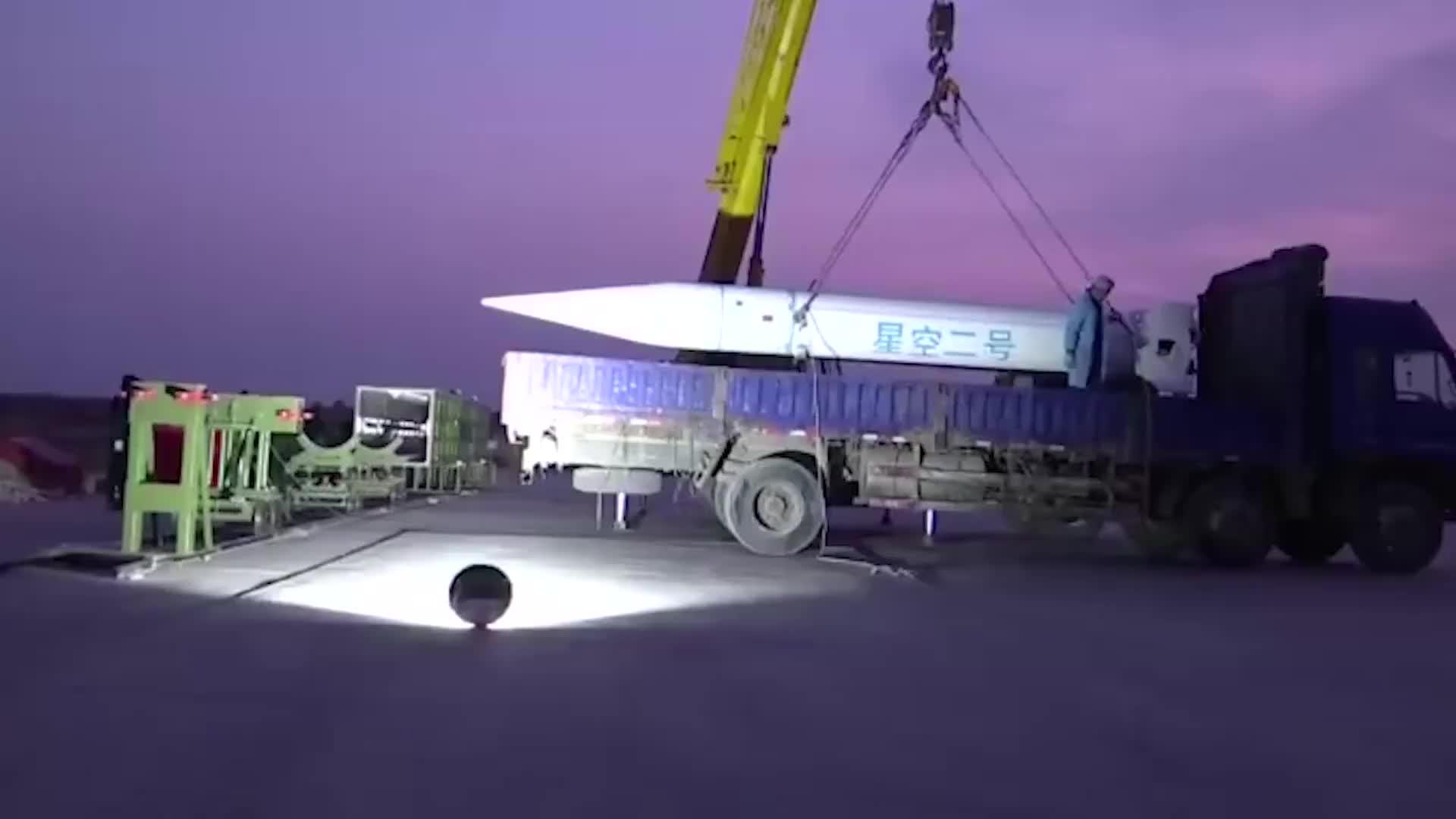 [视频]官方大尺度公开高超声速飞行器实弹试验