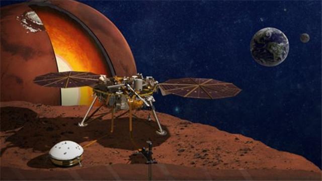 """[视频]""""洞察""""号探测器即将登陆火星"""