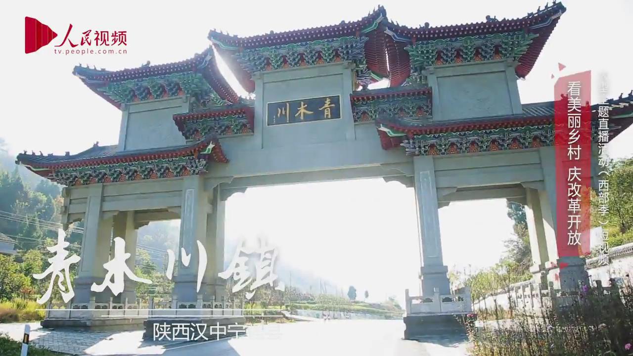 """[视频]美丽乡村·陕西青木川镇:""""一脚踏三省"""" 一手造古镇"""