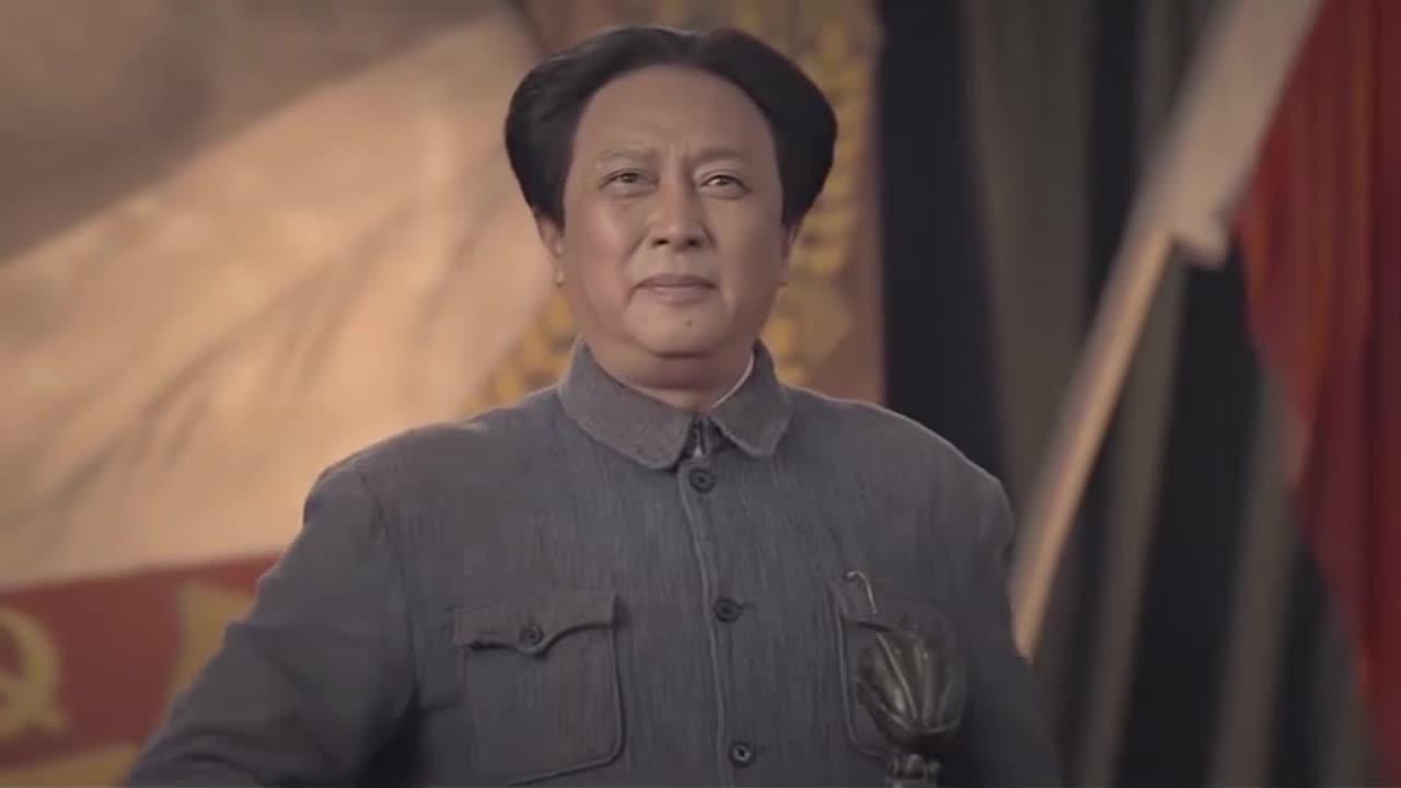 """【不忘初心 经典故事】在中共七大上 毛泽东慷慨激昂地宣布要挖掉这""""两座大山"""""""